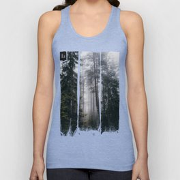 Into the forest we go Unisex Tank Top