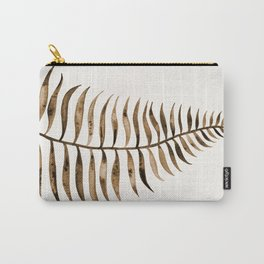 Palm Leaf – Sepia Carry-All Pouch