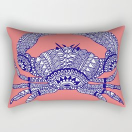 Charlotte the Crab Rectangular Pillow