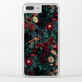 Night Garden XXXI Clear iPhone Case