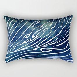 Wine Dark Rectangular Pillow