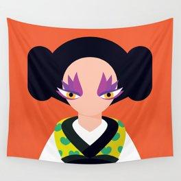 Geisha Wall Tapestry