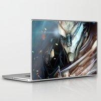 garrus Laptop & iPad Skins featuring Garrus Vakarian by Alba Palacio