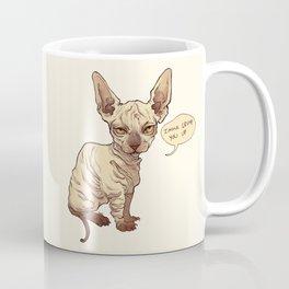 Angry Sphynx Coffee Mug