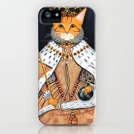 The Ginger Queen's Coronation iPhone Case