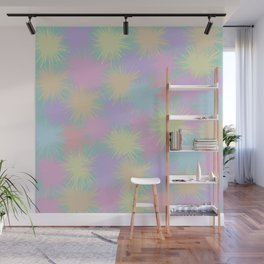 Colorful explosions Wall Mural