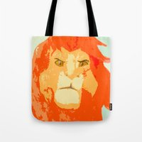 simba Tote Bags featuring Simba by Makayla Wilkerson