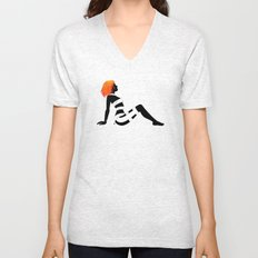 Leeloo Dallas Mudflap Unisex V-Neck