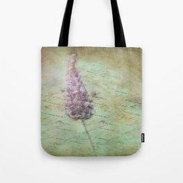 Lady Lavender Tote Bag