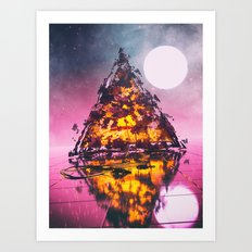 Deep Sleep Art Print