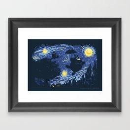 A Night for Spirits Framed Art Print