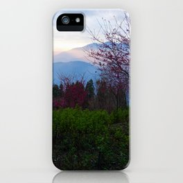 Sheep and Sunsets iPhone Case