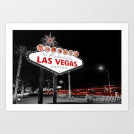Passing Through - Las Vegas Nevada Art Print