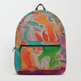 Wings of fire colour full Backpack