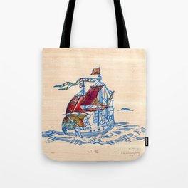 Sailing Ship XI Tote Bag