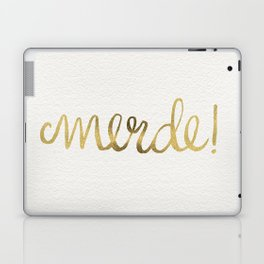 Pardon My French – Gold Ink Laptop & iPad Skin