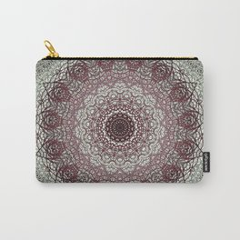 Antique Lace Mandala Carry-All Pouch
