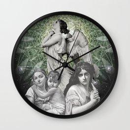 PRAY FOR US Wall Clock