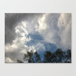 Symphony Of Clouds Canvas Print