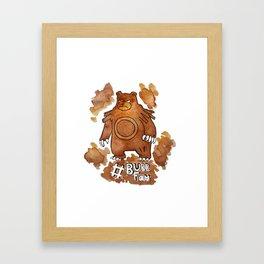#Burr Fam Framed Art Print