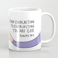 bible Mugs featuring bible message mugcup by ssongso