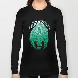 Gravity Falls - Face your Villains Long Sleeve T-shirt