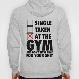At The GYM  Hoody