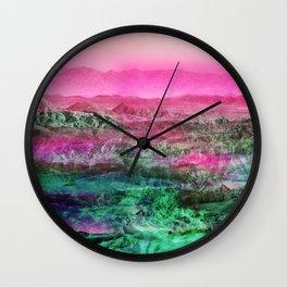 Tropical Desert Wall Clock