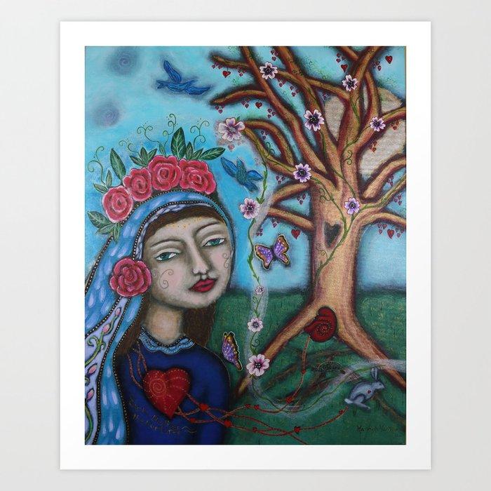 """Earth Mother the Nurturer"" Art Print"