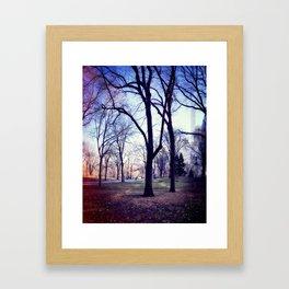 Wake Up In Your Dream World Framed Art Print