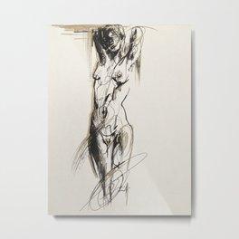 Nena, Golden serie IV Metal Print