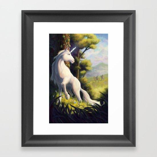 The Last of Her Kind Framed Art Print