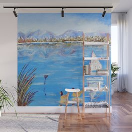 Pond Lovers | Amoureux de L'Etang Wall Mural