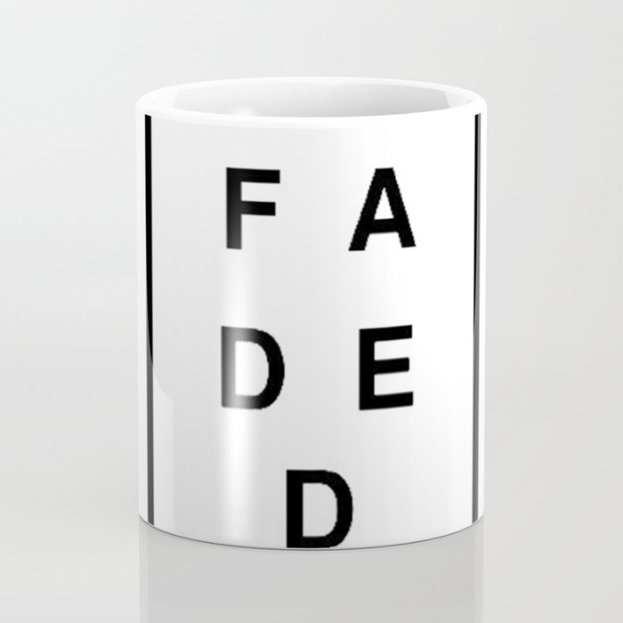 FADED SQUARED Coffee Mug