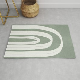 Abstract Arches Rug
