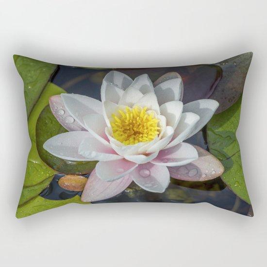 Summer Lily Rectangular Pillow
