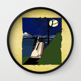 Kaguya Hime Daughter Of The Moon Wall Clock