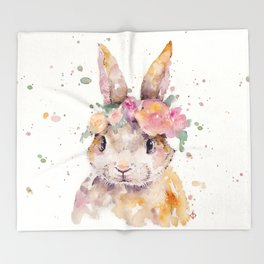 Little Bunny Throw Blanket