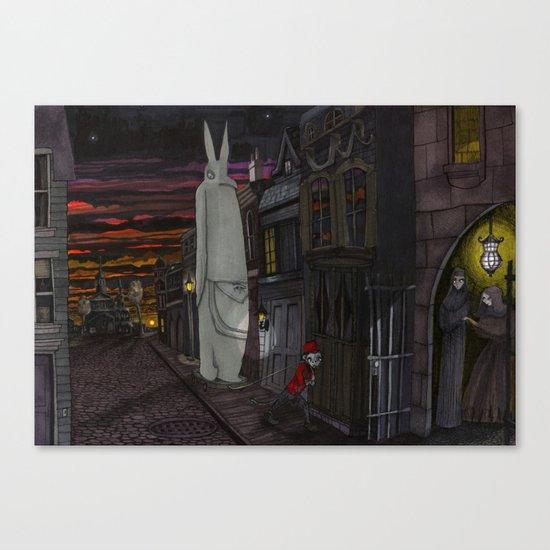 Schlepping Towards Bethlehem Canvas Print