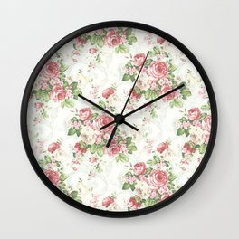 SOUTHERN BELLE FLORAL  Wall Clock