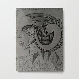 CRÁNEOS 2 Metal Print