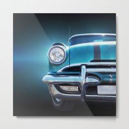 US American classic car star chief 1955 series 28 Metal Print