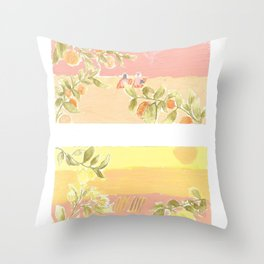 Sunrise Lovers Throw Pillow