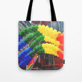 Proud Scene (LGBT Pride Parade) Tote Bag