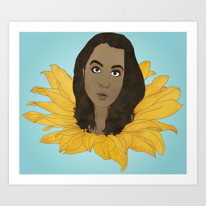 Sunflower No.3 Art Print