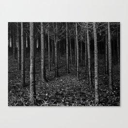 Armee of Trees Canvas Print