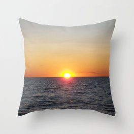SUNSET 77 Throw Pillow