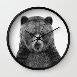 Baby Bear Wall Clock