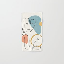 Abstract Faces 32 Hand & Bath Towel