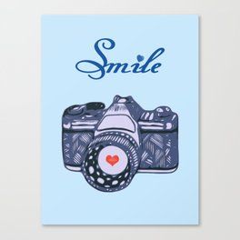 Let Your Smile Change the World.  Canvas Print